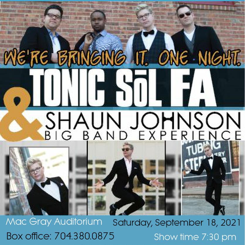 TONIC Sol FA -Acapella and SHAWN JOHNSON Big